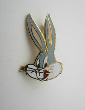 Bugs Bunny Pin Badge Enamel Warner Bros Looney Tunes Animation Cartoon 1989