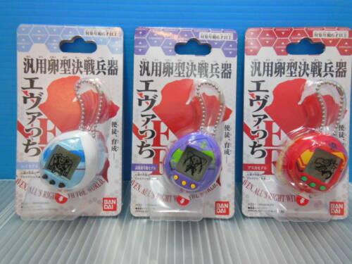 BANDAI Tamagotchi x Evangelion Evatchi All 3 Model Set Complete Rare 2020 japan