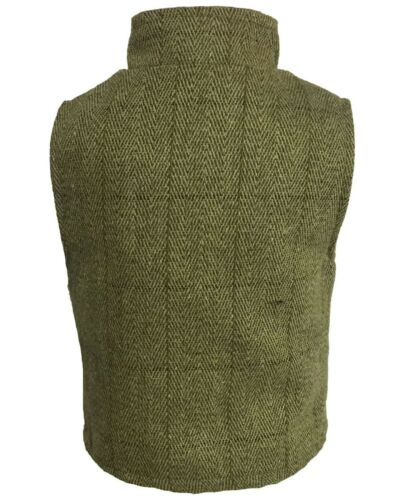 Regents View Childrens Kids Teflon Coated  Derby Tweed Bodywarmer country vest