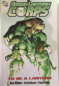 Green-Lantern-Corps-To-Be-A-Lantern-2007-TPB-Graphic-Novel-DC