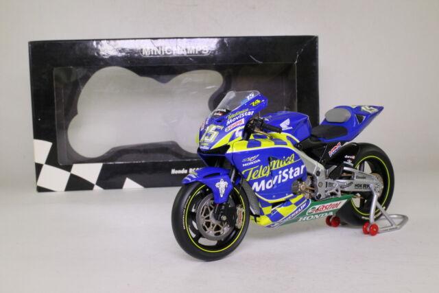 Minichamps 122 037115; Honda RC211V; 2003 MotoGP; Sete Gibernau; Excellent Boxed