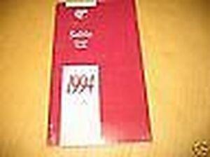 Sonstige Humorvoll 1994 Mercury Sable Bedienungsanleitung 94 Owner's Neu Nos