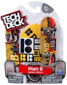 TECH DECK PLAN B TOREY PUDWILL Series 7 Fingerboard Skateboard NEW ULTRA RARE