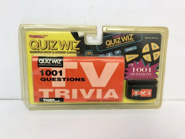 1997 Tiger Electronics Quiz Wiz Star Wars Electronic Question Game
