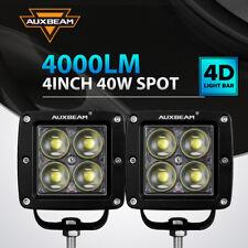 Auxbeam 4 Spot Led Work Lights For Caterpillar Skid Steers Excavator Forklift
