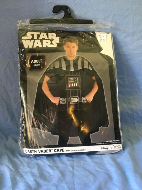 BRAND NEW ADULT/ One Size  DARTH VADER CAPE FACTORY SEALED