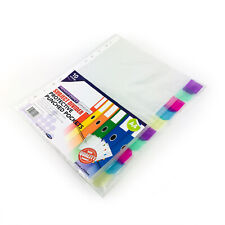 A4 SUBJECT DIVIDER 15 PART MULTI PUNCHED WRITE TYPE TAB