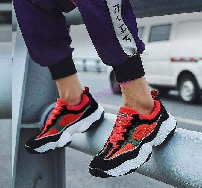Boys Mens Lace Up Casual Sports Atheletic Outdoor Sneakers shoes Comfy Hot Sale