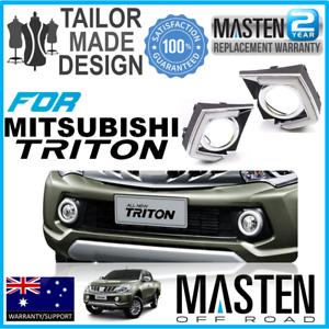 2x-LED-DRL-daytime-running-lights-fog-lamp-Fit-for-Mitsubishi-L200-Triton-15-16