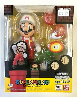 Figuarts Fire Mario en stock USA Bandai S.H