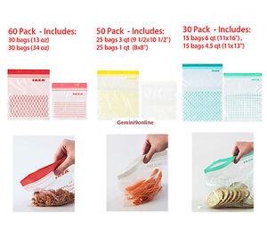 60 Pack IKEA ISTAD 60 Pack Plastic Bag