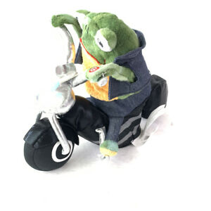King Of The Road Plush Frog On A Harley  Gemmy Born To Be Wild Song & Vibrates