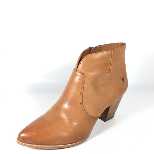 1345ab668da Frye Jennifer Bootie Short Cowboy BOOTS 574 Cognac 8 US