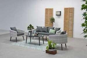 Aktion Sitzgruppe Gartenmöbel Garnitur Lounge Dazur Loungeset