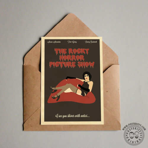 ROCKY HORROR PICTURE SHOW Minimalist Movie Poster Posteritty Minimal Print Art