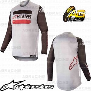 Alpinestars 2019 Racer Tactical Youth Kids Black Grey Red Fluo Race ... b90309126