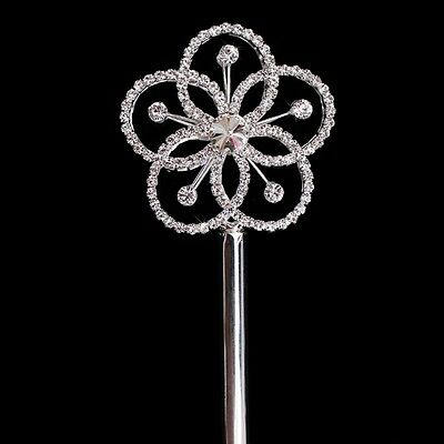 HEART SCEPTER WAND CRYSTAL RHINESTONE NEW MAGIC FAIRY WITCH ROYAL QUEEN PRINCESS
