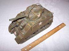 Jayland M4 Sherman Tank - Trench Art Style Tin Plate Decorative vintage art
