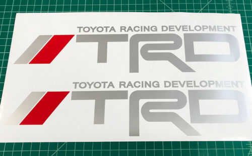 2 TRD Tacoma Tundra Sport Off Road Truck Toyota Decals Stickers Graphic Vinyl