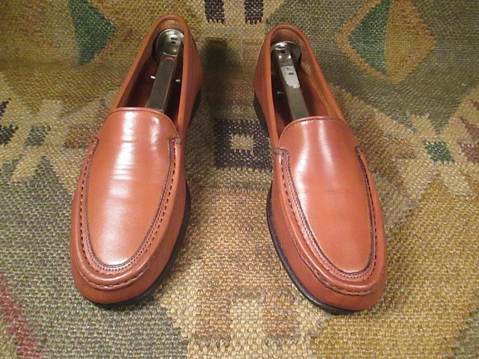 COLE HAAN (Grün Label) Tan Leather Slip On On On Loafers Größe 6.5 B made in  013f79
