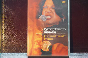 Rare-Northern-Souls-Greatest-Hits-DVD-34-Tracks-plus-extras-2003-MINT-Order