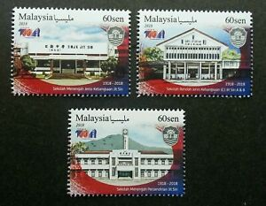 SJ-Malaysia-Jit-Sin-School-Centenary-Anniversary-2018-Academic-stamp-MNH