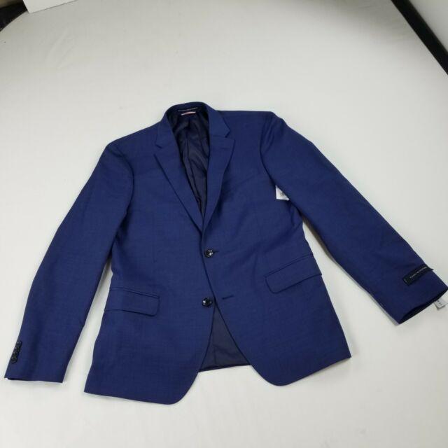 SS41 52R STEVE HARVEY Royal Blue SUIT SEPARATE  52 Regular Mens Suits