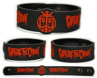 CAPTURE THE CROWN Rubber Bracelet Wristband Ladies & Gentlemen I Give You Hell