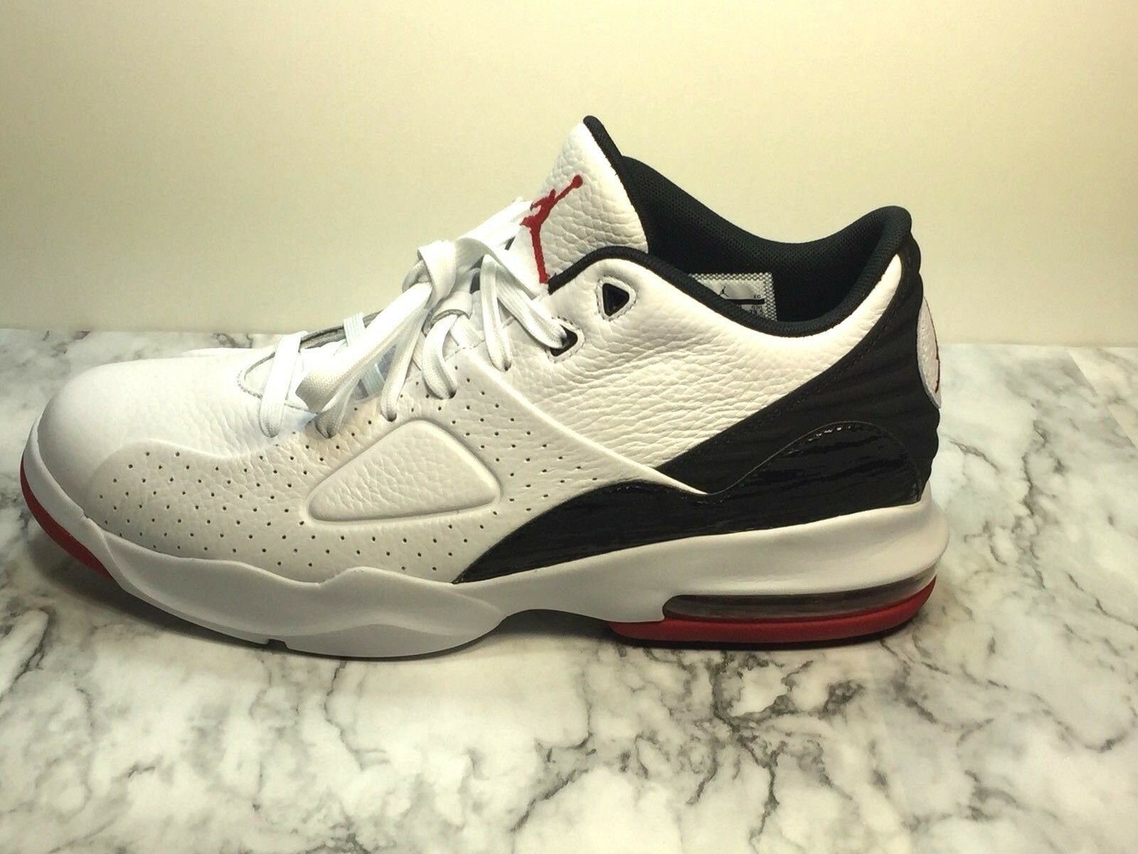 Nike Air Jordan Franchise 881472-101 Men's Sneakers white black red size 11.5