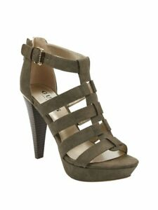 GUESS-Factory-Women-039-s-Nancee-Gladiator-Platform-Heels