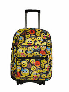 F16EM30569 EMOJI Emojination Large Custom Rolling Backpack 17