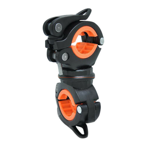 Lamp Stand Bicycle Torch Clip Clamp 360 Degree Bike LED Flashlight Mount Holder