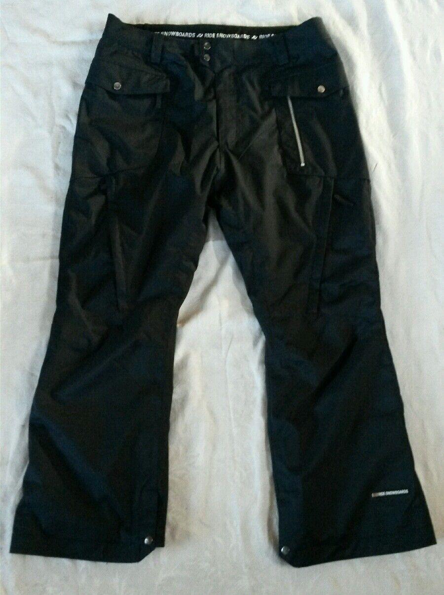 NWOT RIDE ski SNOW BOARD pants,STRATA II,leg vents,cargo,mens XL 40 waist