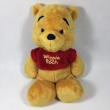 "Disney Winnie The Pooh 11"" Plush Stuffed Baby Toy Super Soft EUC"