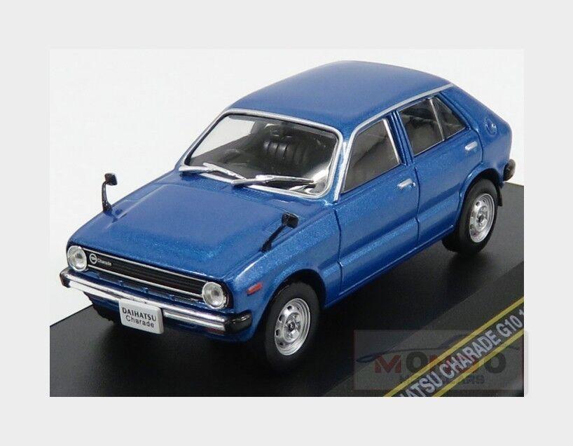Daihatsu Charade G10 1977 bleu FIRST43 1 43 F43-083