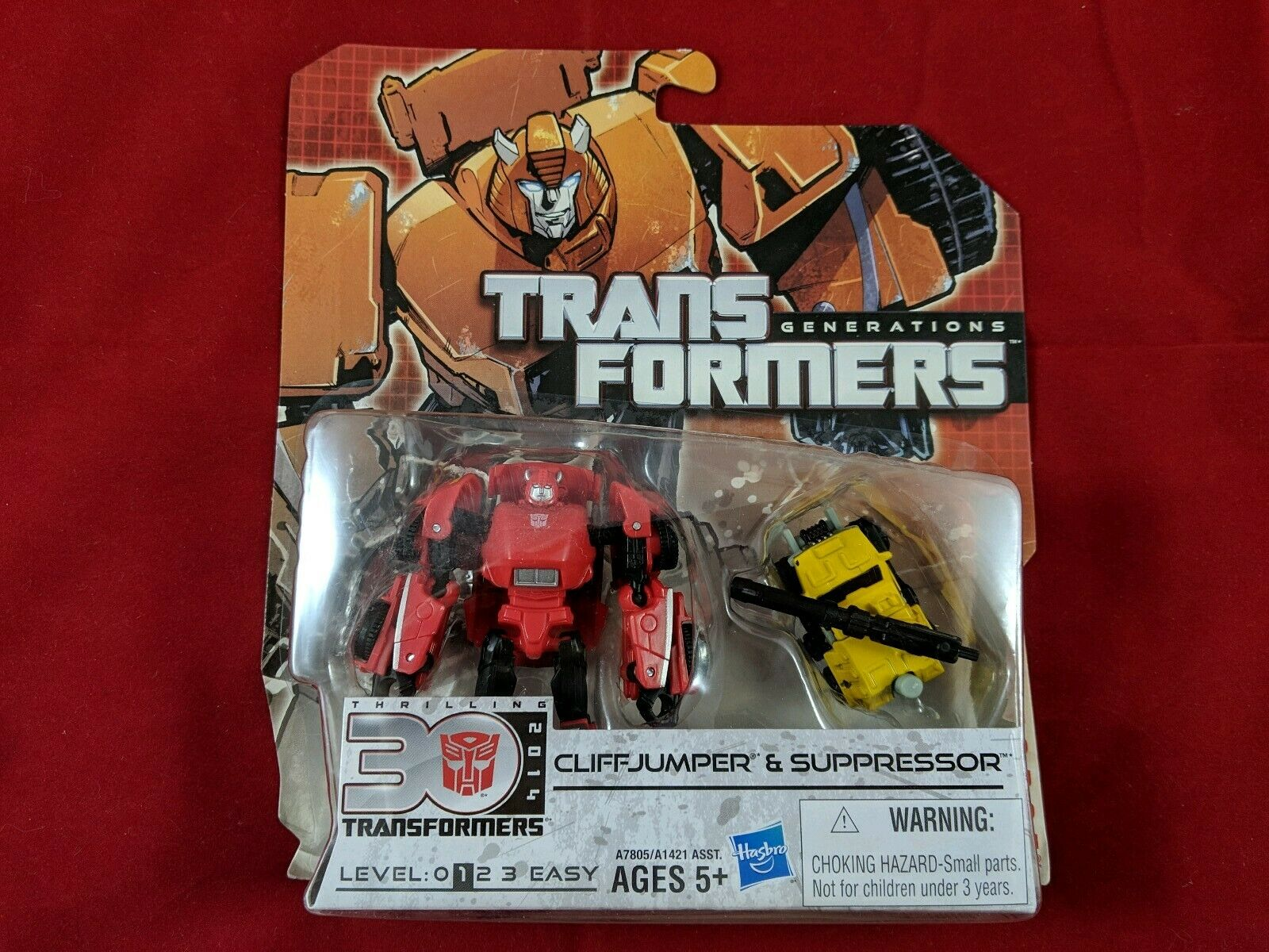 Transformers Generations Legends Cliffjumper Suppressor Thrilling 30 NEW SEALED