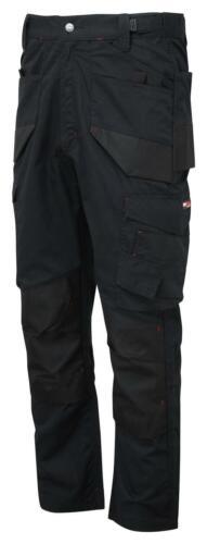 "CASTLE TuffStuff 727 Elite RipStop black lightweight work trouser 28/""-44/"" R//T"