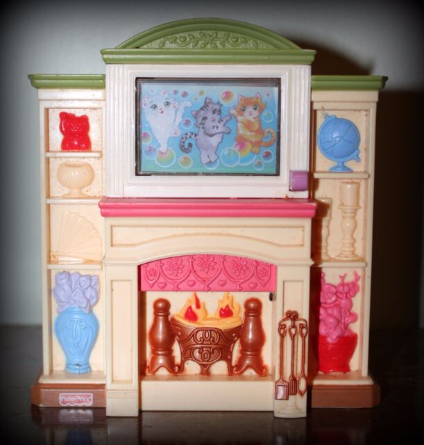FISHER PRICE LOVING FAMILY FIREPLACE
