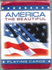 America The Beautiful Patriotic Playing Card Deck Ebay