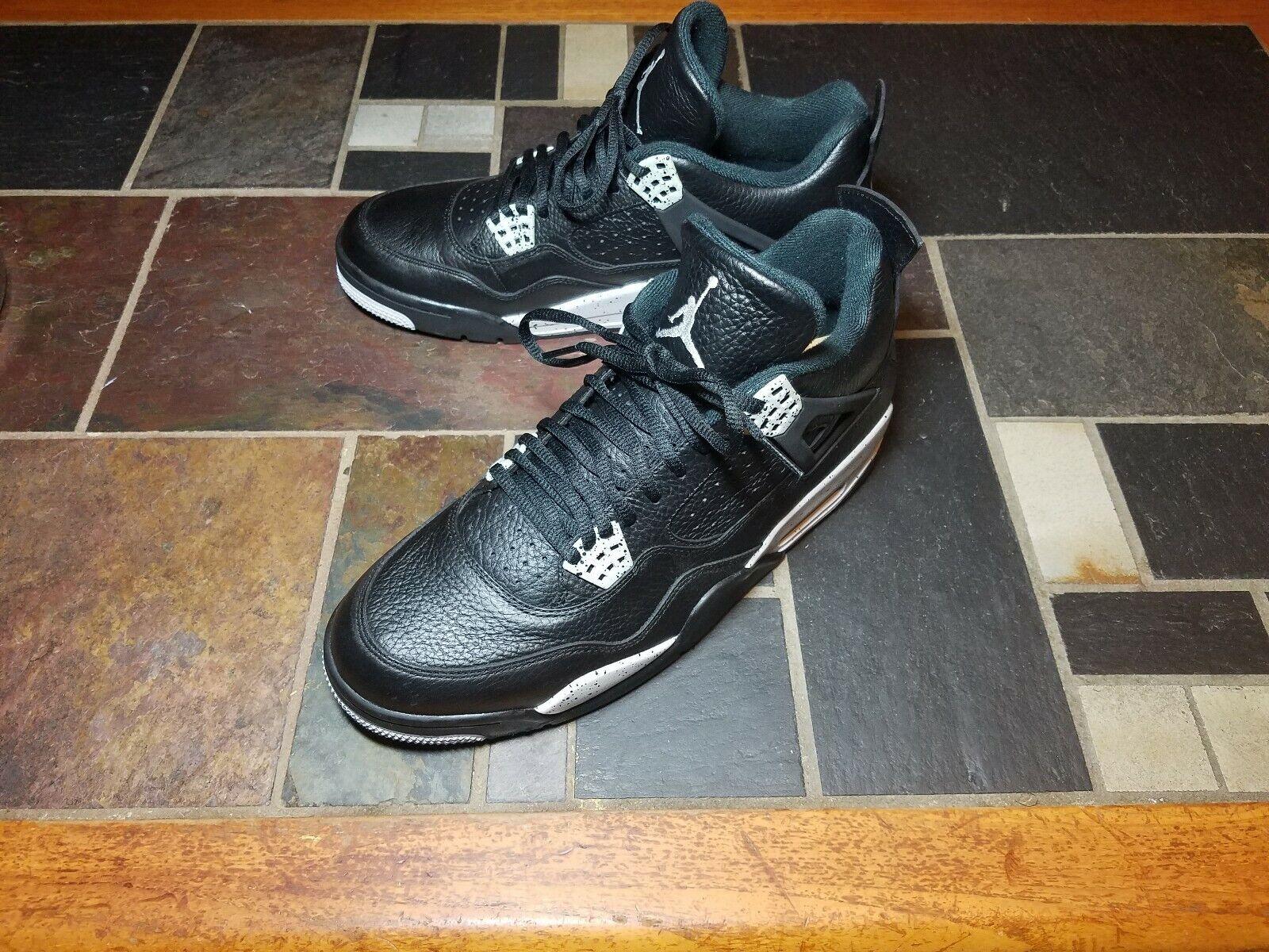 Nike Air Jordan Retro 4 Oreo, 2014 Release, US 11