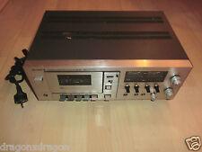 Sony TC 209 SD Vintage Stereo Kassetten Tape Deck, DEFEKT