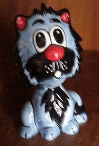 Lorna Bailey gris chat avec une moustache Excellent État Libre p&p #-afficher le titre d`origine kF4dbNes-09090817-287321410