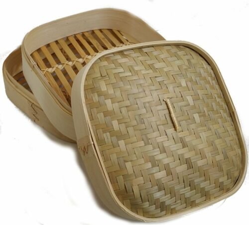 Jade 17126 Bambou Cuiseur Riz Vapeur Garer 25 cm Steamer Slow Cooker dampder Dimsum