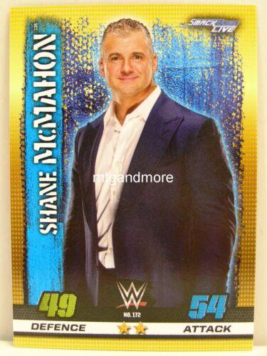Slam Attax 10th Edition #172 Shane McMahon