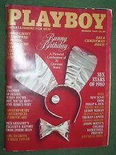 Playboy Dec 1980 Gala Christmas Iss Vargas Henry Miller George C Scott interview