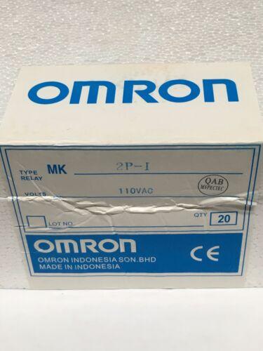 Relay OMRON MK2P-I MK2P AC 110V  8 Pin 10A 250VAC and PF083A Socket Base