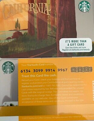 "Mint ""You Are One In a Million"" 2015 Starbucks Gift Card Free Shipping"