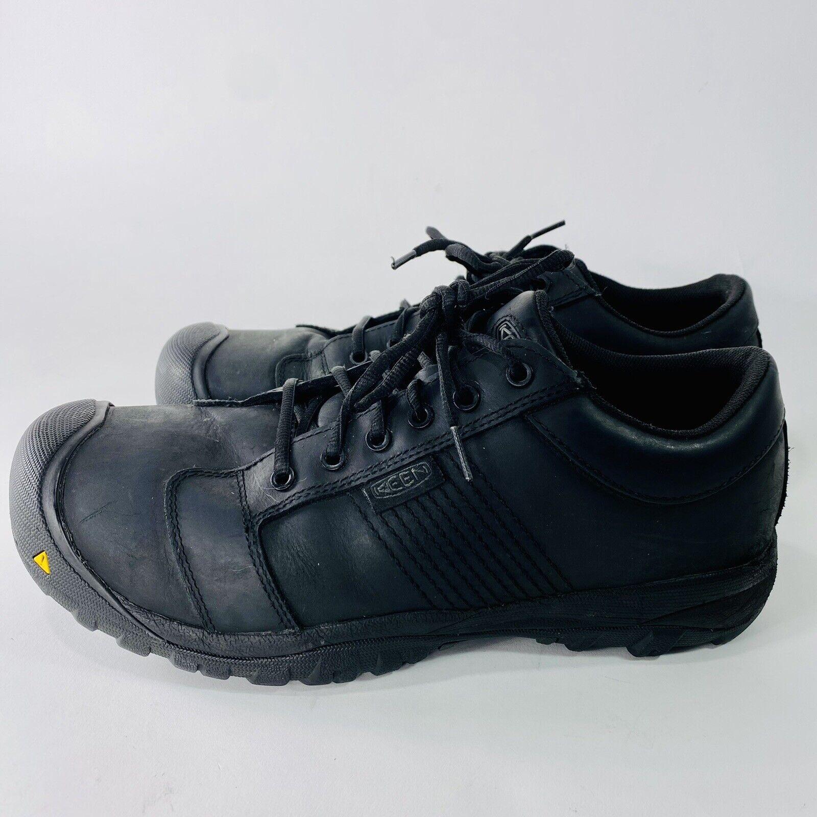 Keen La Conner ESD Aluminum Toe Black Work Shoes 1017823D - Men's Size 11.5