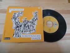 """7"""" VA Europäische Tänze - Rumänien 1 (4 Song) CAMERATA / MÖSELER VLG"""