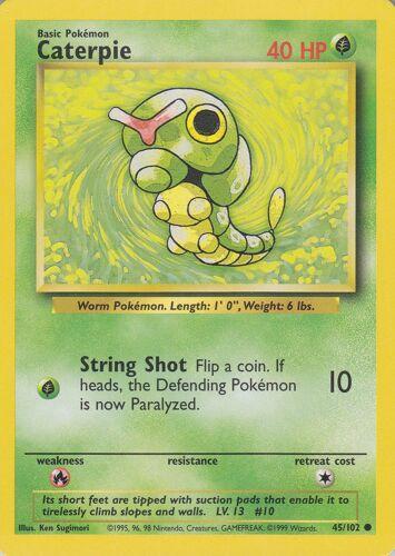 Original Pokemon Base Set Trading Cards Pick A Card Near Mint Condition
